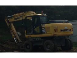 Komatsu PW160-7
